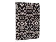 Black Kroo Universal 8 Tablet case with paisley pattern and kickstand