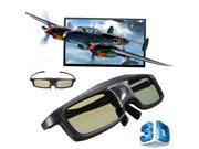 New 144Hz 3D DLP-Link IR Active Shutter Rechargeable 3D Glasses for BenQ 9SIAASP40K5911