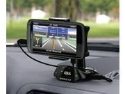 Car Rotating Smart Stand Holder +Charger MP3 FM Transmitter