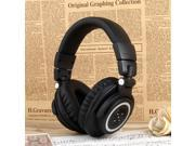 OVLENG V8-3 90°Foldable Super Bass Wireless Bluetooth 4.0 Games Headphone for iphone/ipad/Samsung Galaxy - Black