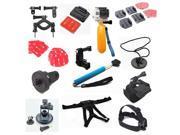 Go pro hero3 13-in-1 gopro accessories mount digital mini cam tripod bag Chest head Floaty pole grip monopod for go pro 3 2 1 3+   GP228