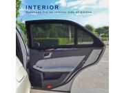 TFY Universal Car Side Window Baby Sun Shade - Protects Your Kids from Sun Burn - Single Layer Design -  Maximum Visibility - Fit Most of Vehicle, Jeep, Ford, Chevrolet, Buick, Audi, BMW, Honda, Mazda