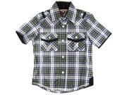 American Heritage Little Boys' Ultimate Comfort Plaid Dress Shirt, Green, 4T