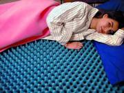 """Environmentally Friendly Convoluted Mattress Overlays-Style: Twin Size: 34"""" x 72"""" x 2"""" - UOM = Each 1"""