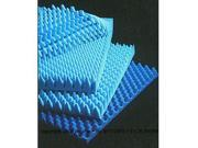 """Environmentally Friendly Convoluted Foam Hospital Bed Pads-Height: 2"""" - UOM = Each 1"""