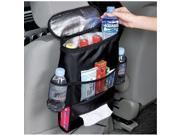Car Seat Organizer/Auto Seat Back Organizer/Multi-Pocket Travel Storage Bag/Insulated Car Seat Back Drinks Holder Cooler / Storage Bag Cool Wrap Bottle Bag with Mesh Pockets