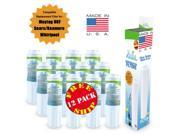 (12-Pack) - Maytag 4396395P Compatible Refrigerator Water and Ice Filter by Zuma Filters (OPFM2)