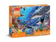 Living Ocean 200 pcs. - Jigsaw Puzzle by Melissa & Doug (8970) 9SIA17P3MM5019