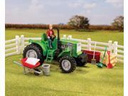 Breyer Horses Stablemates Size Breyer Acres Tractor Set #5358 9SIA0MT0JT0423