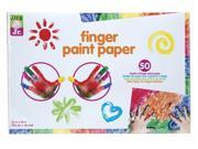 Tots Finger Paint Paper - Art Supplies By Alex Toys (1875w)