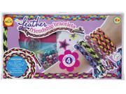 Faux Leather Friendship Bracelet Kit-