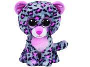 Tasha Pink & Grey Leopard Beanie Boo - Stuffed Animal by Ty (36151)