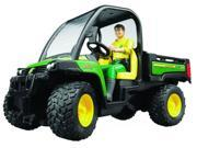 Gator XUV 855D with Driver (John Deere) - Vehicle Toy by Bruder Trucks (09812)