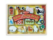 Farm Lacing Beads - Lacing Toy by Melissa & Doug (9403)