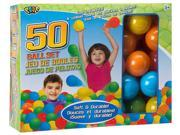 50 Ball Set (Ball Pit Balls) - Family Game by Ideal (786TL)