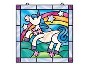 Unicorn Stained Glass - Craft Kit by Melissa & Doug (9299)