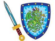 Knight Sword & Shield Set - Pretend Play Toy by Schylling (KSET)