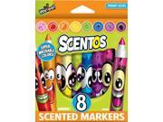 Scentos Markers 8-Pack - Art Supplies by Schylling (40605)