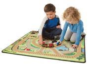 Round the Rails Train Rug - Train Toy by Melissa & Doug (9554) 9SIA2HK5806114