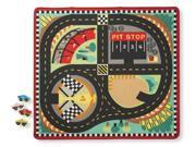 Round the Race Track Rug - Vehicle Toy by Melissa & Doug (9401) 9SIA2HK5806085