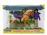English Horse & Rider - Collectible Horse by Breyer (61069) 9SIA0MT1C13974