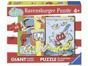 Green Eggs & Ham Dr. Seuss Floor Puzzle 60 pcs. by Ravensburger (05455)