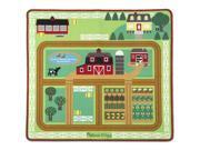 Round the Barnyard?Play Rug - Imaginative Play Set by Melissa & Doug (9425) 9SIA5N55HG7683
