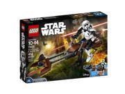 Scout Trooper & Speederbike - Star Wars Buildable Figures Building Set by Lego 9SIA9PK6MH6260
