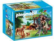 Lynx Family with Cameraman - Play Set by Playmobil (5561)