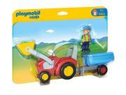 Tractor with Trailer 1.2.3 - Imaginative Play Set by Playmobil (6964) 9SIA5N55B57830