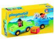 Car with Horse Trailer 1,2,3 - Play Set by Playmobil (6958) 9SIA0ZM6GG1190