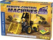 Thames & Kosmos Remote-Control Machines Construction Vehicles Experiment Kit 9SIA9PK6NP6037