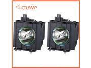 Replacement Projector Lamp/bulb ET-LAD40W/ETLAD40W for PANASONIC PT-D4000 (Dual) / PT-D4000E (Dual) / PT-D4000U (Dual) 9SIA5N622D8317
