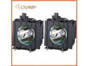 Replacement Projector Lamp/bulb ET-LAD57W for PANASONIC PT-DW5100L (Dual)/PT-D5700L (Dual)/PT-D5100 (Dual)/PT-D5700 (Dual)/PT-D5700E (Dual)/ ETLAD57W Etc 9SIA5N622D8313