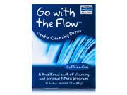 NOW? Real Tea - Go With The Flow Tea Bags, Cleansing Detox - Box of 24 Packets b
