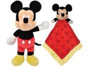 Kids Preferred Disney Mickey Mouse Plush & Snuggly Blanky