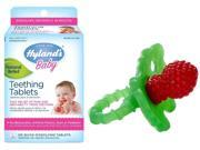 Hyland's 135 Count Homeopathic Teething Tablets with RazBaby Teether