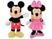 Kids Preferred Disney Mickey and Minnie Mouse Plush Set