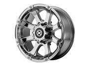 ATX AX188 Ledge 18x9 8x170 +0mm Chrome Wheel Rim