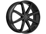 Akuza 843 Zenith 20x8.5 5x112/5x114.3 +35mm Gloss Black Wheel Rim