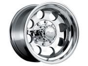 Pacer 164P LT Mod Polished 16x8 8x170 -6mm Polished Wheel Rim