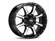 Moto Metal MO970 17x8 6x127/6x135 +40mm Black/Machined Wheel Rim