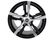 Stern ST-4 Warp 19X8.5 5X120 +13mm Gloss Black Wheel Rim