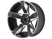 XD Series XD811 Rockstar 2 17x8 5x150 +35mm Black/Machined Wheel Rim