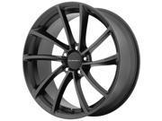 KMC KM691 Spin 18x8 5x120 +35mm Satin Black Wheel Rim