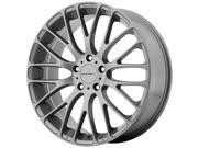KMC KM693 Maze 17x7 5x114.3 +45mm Pearl Gray Wheel Rim