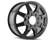 Mayhem 8101 Monstir Dually Inner 22x8.25 8x200 +127mm Black Wheel Rim