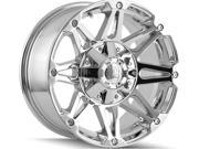 Mayhem 8010 Riot 20x9 5x127/5x139.7 +18mm Chrome Wheel Rim