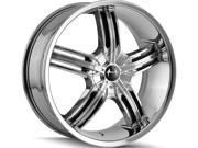 Mazzi 365 Galaxy 18x7.5 5x110/5x115 +40mm Chrome Wheel Rim
