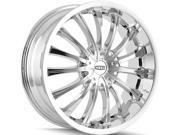 Dip D50 Hype 20x8.5 5x105/5x114.3 +35mm Chrome Wheel Rim